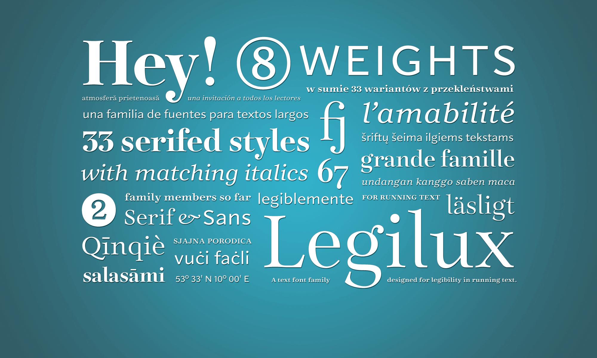Legilux Typeface